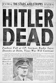 Hitler's body was buried