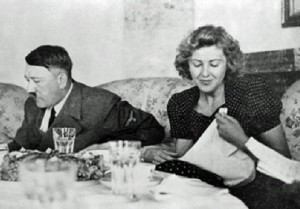 Hitler was a vegetarian.
