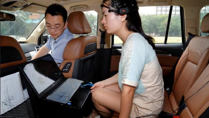 Chinese researchers showcase brain-powered car