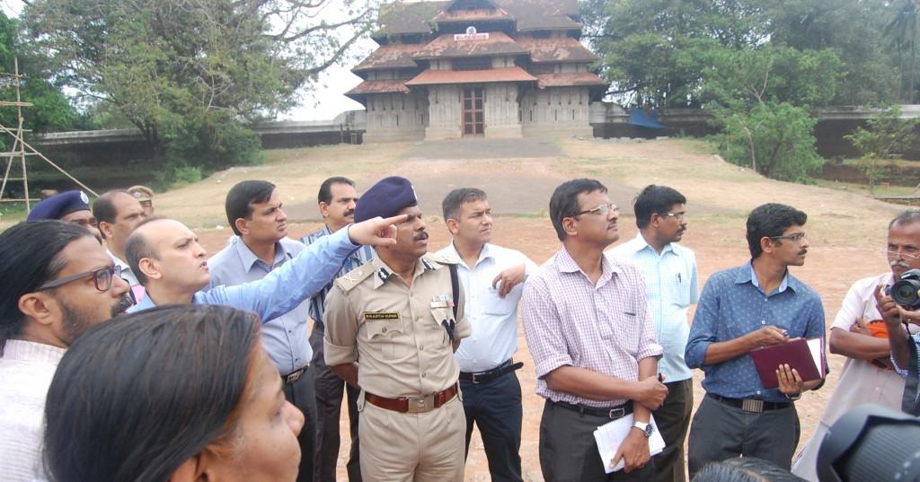 Thekkinkad Maithan Visiting SPG Before The Visit of Narendra Modi,Prime Minister Narendra Modis Visit At 14.12 (4)