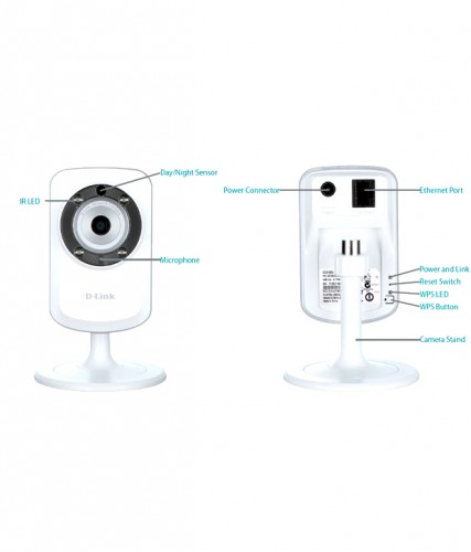 a47c99d3e D-Link DCS-933L Wireless N Network Camera Range Extender H 264 Day ...