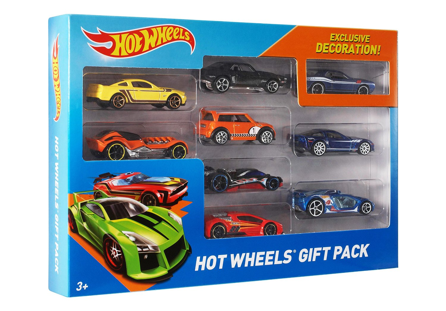 Mattel x6999 hot wheels 9 car gift pack for best for 9 salon hot wheels 2016