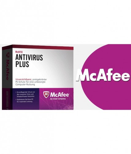 Mcafee Antivirus Plus Latest Version 1 Pc 1 Year For Rs 99