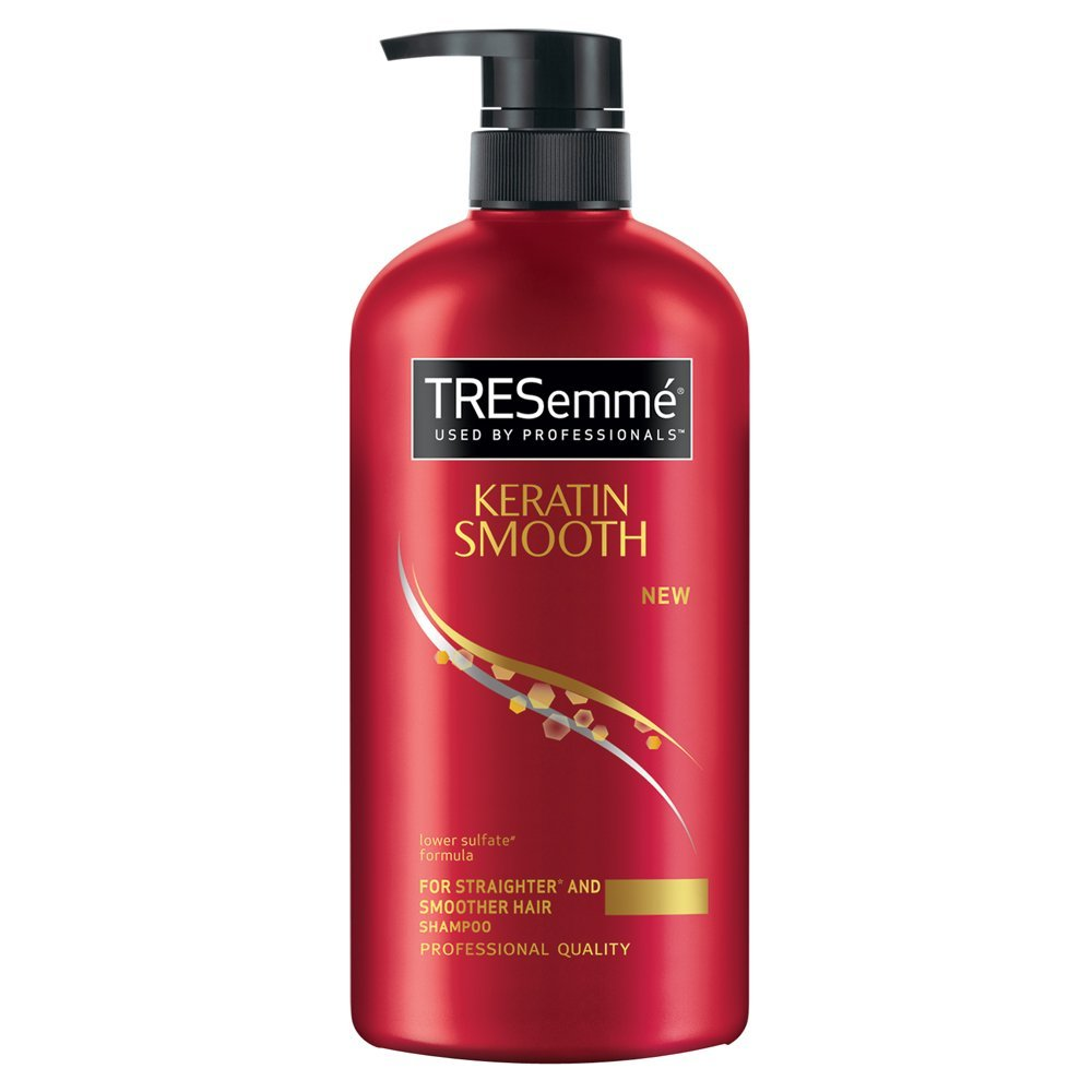 styling products for keratin treated hair buy tresemme keratin smooth shampoo 580ml for rs 298 4412