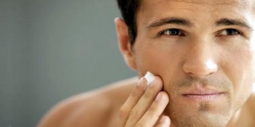 men sensitive about their skin