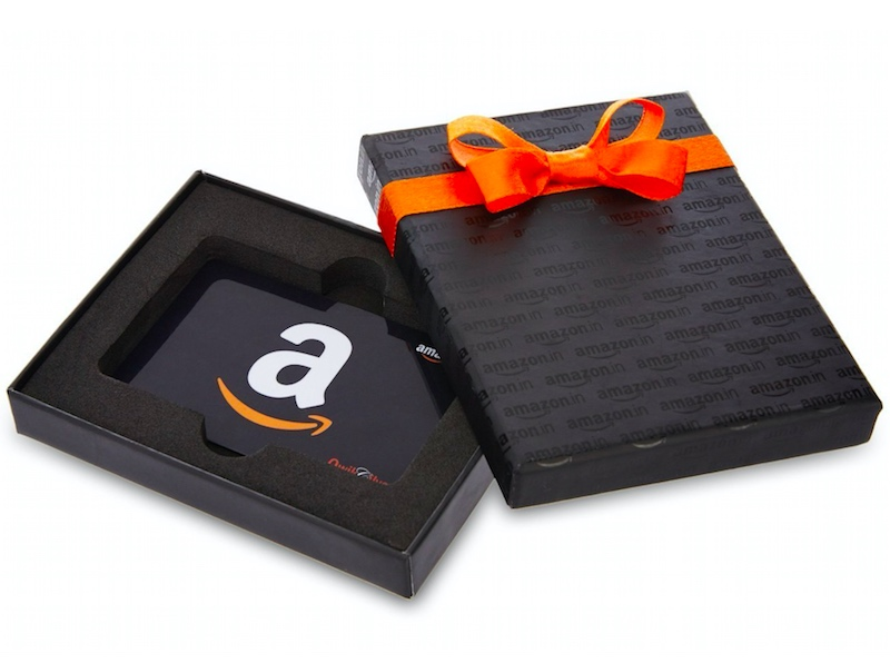amazon india gift card offers