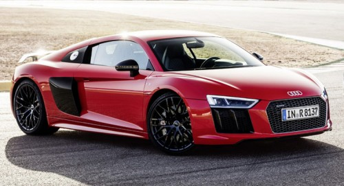 Audi r8 spyder top speed 18