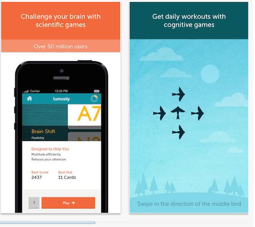 LUMOSITY - Best App to train your Brain