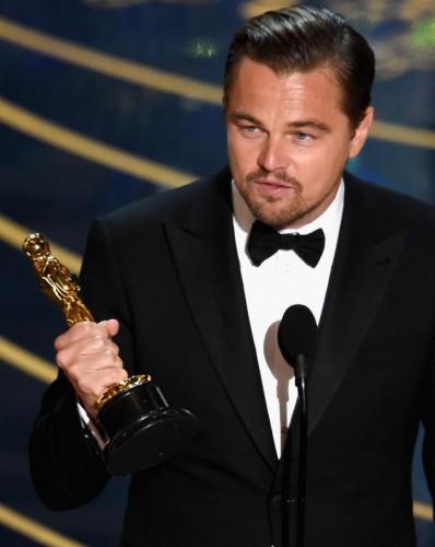 Leonardo DiCaprio Won Oscar 2016
