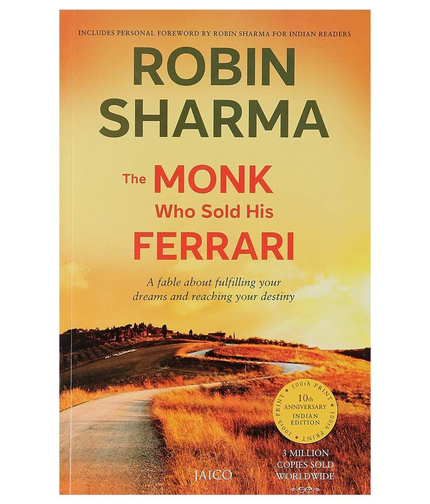The Monk Who Sold His Ferrari Paperback English 2003 For