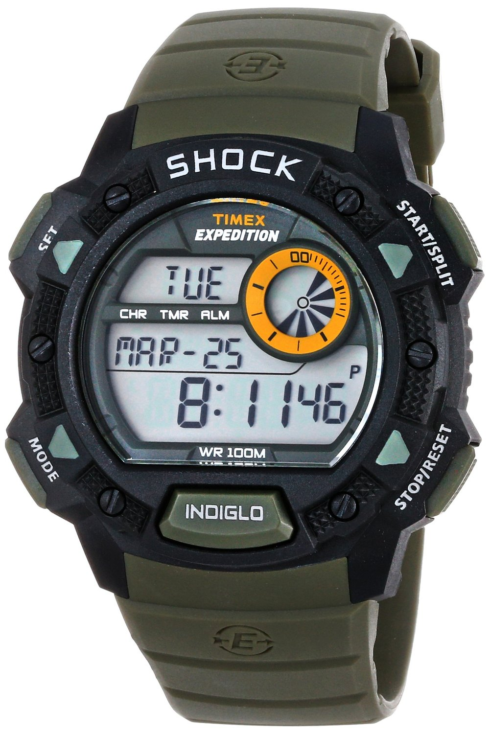 Timex Expedition Men's Digital Sport Watch (T49851GP ... |Timex Expedition Digital Watches Men