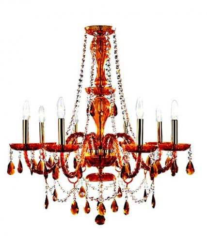 Zenlitzz Balmoral 8LP Hanging Lamp