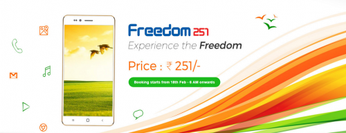 Freedom 251 Specification and Booking Details: India's ...