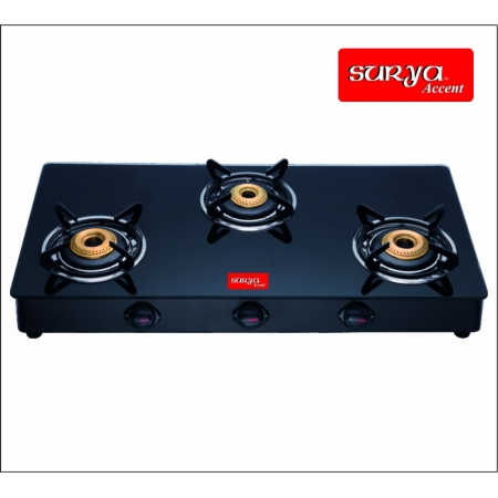 Glass Top Gas Stove Auto Ignition