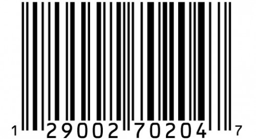 Barcodes and their respective Made in.