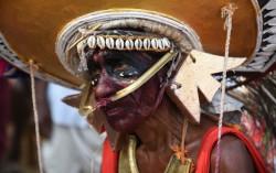 Anthimahakallan vela (festival) in Kerala