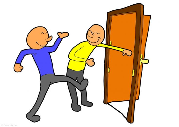 A question of etiquette: do you hold the door for others?