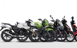TVS Motor Company two-wheelers now available online on Snapdeal