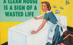 A Clean House Is a Sign of Wasted Life