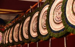 Thrissur Pooram 2016 – Elephant Ornament Exbhition Started