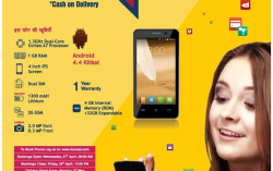 Buy Docoss X1 3G Smartphone Mobile for Rs.888 Only – Get delivery by 2nd May, 2016