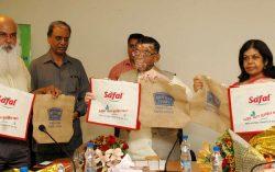 Textiles Minister launches Eco Friendly Jute Bag initiative in Delhi