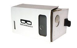 GetCardboard GC-0001 DIY Google Cardboard Virtual Reality Kit ( VR headset ) for Rs.199