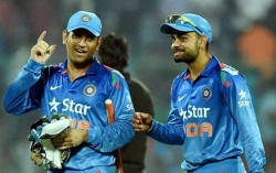Kohli's appraisal discussion with Dhoni