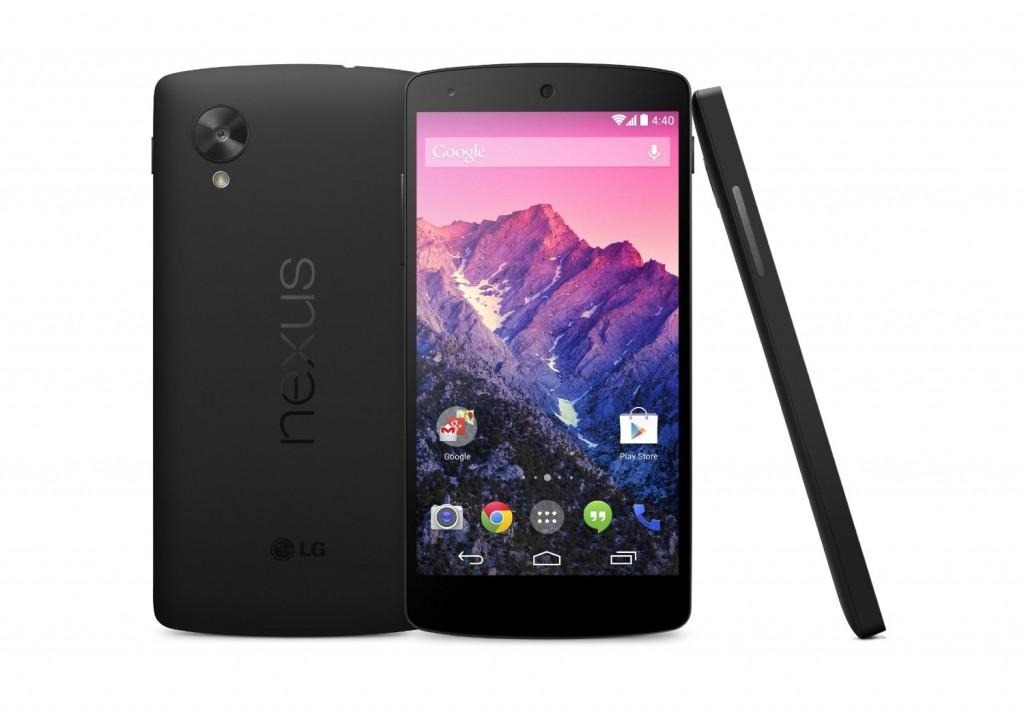 LG Google Nexus 5 4G 16GB Black