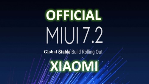 MIUI 7.2 Global Stable Build