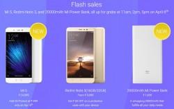 Xiaomi Mi Fan Festival starts today: Mi 5 , Redmi Note 3 Flash Sale and many more offers