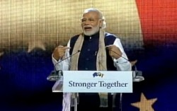 PM addresses Indian Community in Brussels