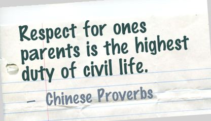 35 Ways to Respect your Parents. Must read