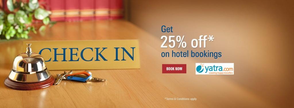 Yatra ICICI Hotel Offer