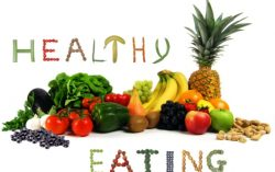 Maintain a healthy weight by healthy eating habits