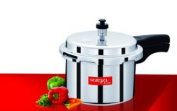 Surya Accent 3 Ltr Aluminium Pressure Cooker (ISI approved) for Rs.399