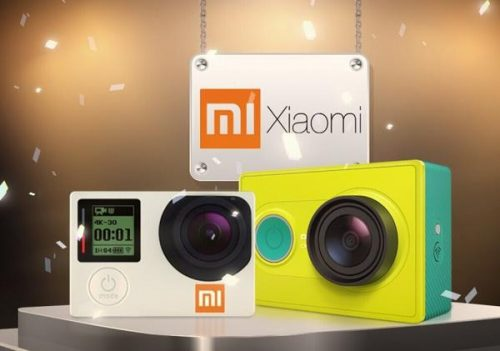 xiaomi launched yi action camera  k support