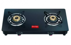 Flat 43% OFF Prestige Marvel Glass Top Gas Table GTM 02