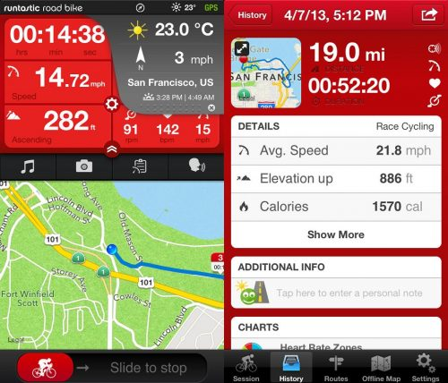 Runtastic Road Bike Tracker Pro