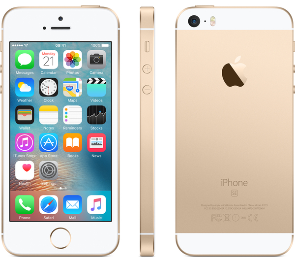 Apple Iphone S E 16 Gb Rose Gold Goldsilvergray For Rs 31 499