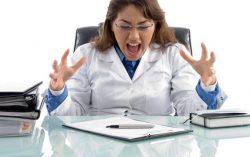 Doctors Frustration