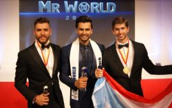 Shri Vijay Goel Congratulates Rohit Khendelwal on Wining Mr World Title