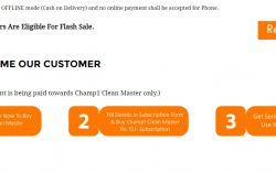 How to buy ChampOne S1 for Rs.501 – Flash Sale on www.champ1india.com