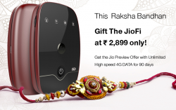 How to get JioFi with Free Jio Preview Offer with Unlimited High Speed 4G Data for 90 days