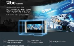 Lenovo launched Vibe K5 Note with 3GB and 4GB RAM options