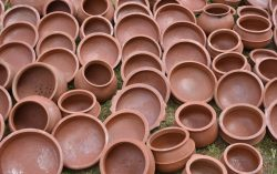 New Pots are Ready For Onam, Festival of Kerala