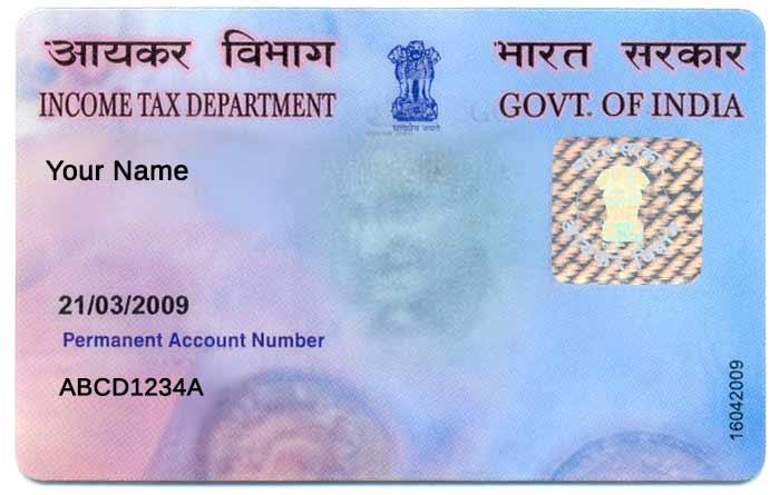 Application For PAN Card - Online NRI PAN Application