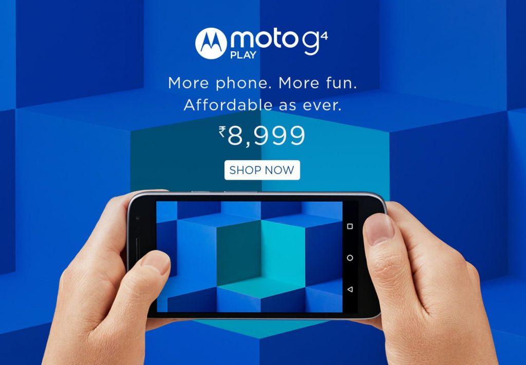 Motorola launched Moto G Play