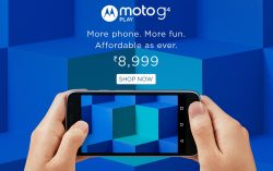 Motorola launched Moto G Play, 4th Gen in India for Rs.8,999