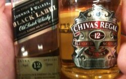 Be specific – Black Label or Chivas?